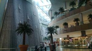 Dubai Mall Waterfall