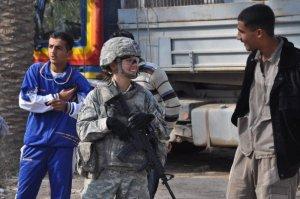 """September 2008 - SPC """"Jenna"""" in Rashadiya, Istiqlal Qada, Iraq"""