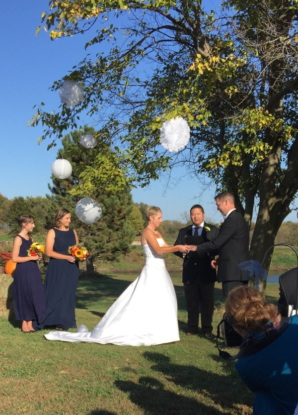 Nick Hughes and Erin Clark wedding in Kansas City