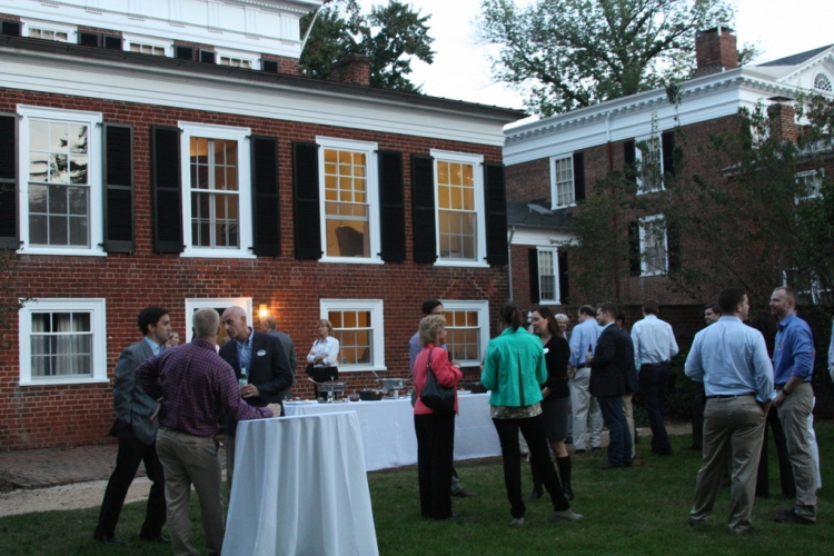 The new Dean of Darden, Scott Beardsley, opened his home on the UVA Lawn for our MBA for Executives class of 2017 this past weekend.