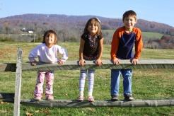 Gwen, Anna, and Ben at Penn Park